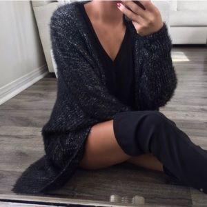Soft & Fuzzy Batwing Cardigan ekattire